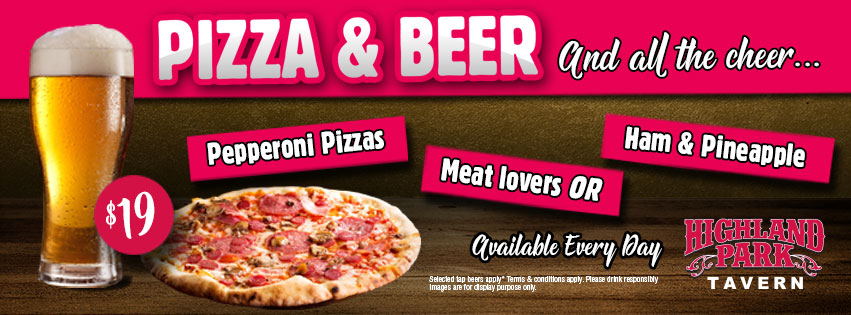 Pizza and Beer Deal